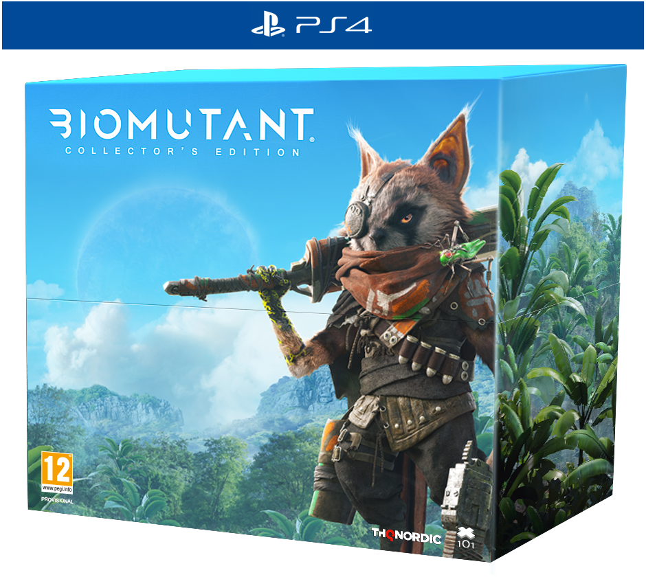 PS 4 Biomutant Collector Edition PS 4
