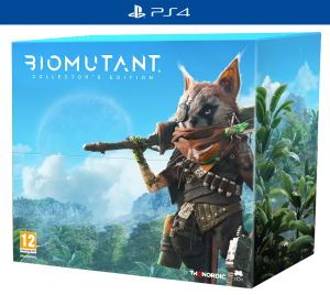 PS 4 Biomutant Collector Edition