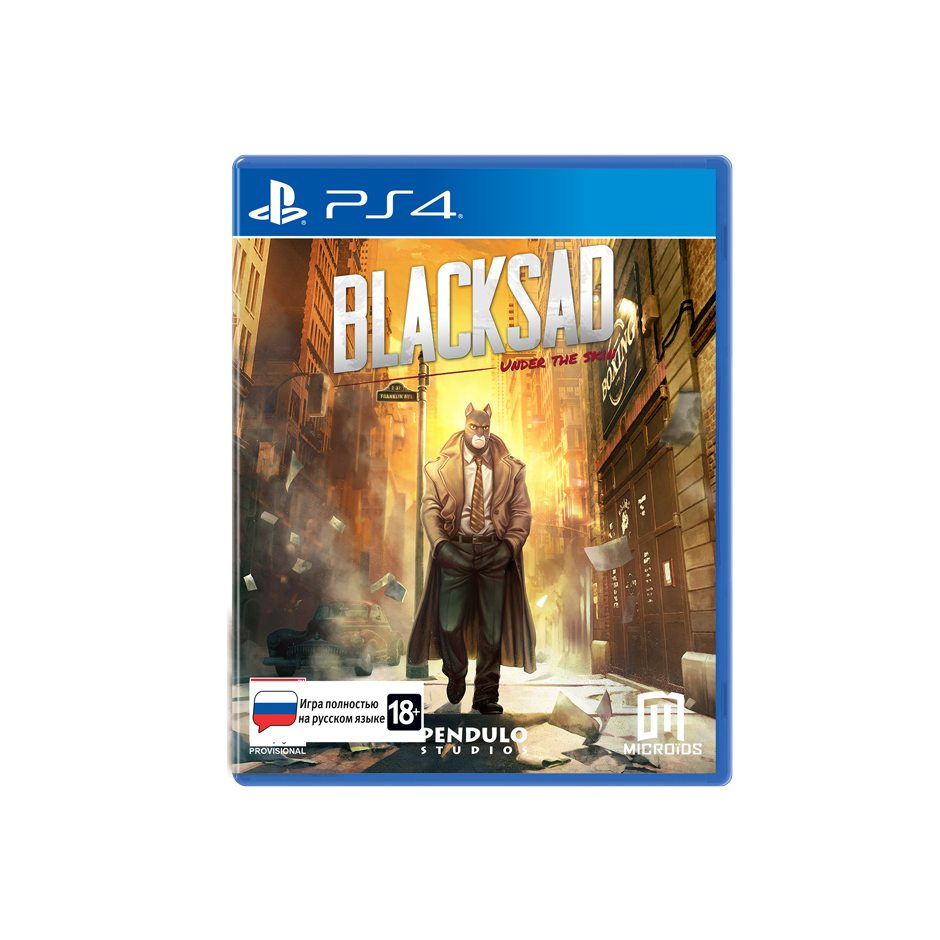 PS 4 Blacksad: Under The Skin Limited Edition PS 4
