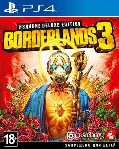 PS 4 Borderlands 3. Deluxe Edition