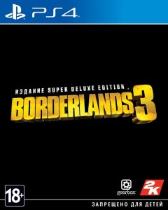 PS 4 Borderlands 3. Super Deluxe Edition