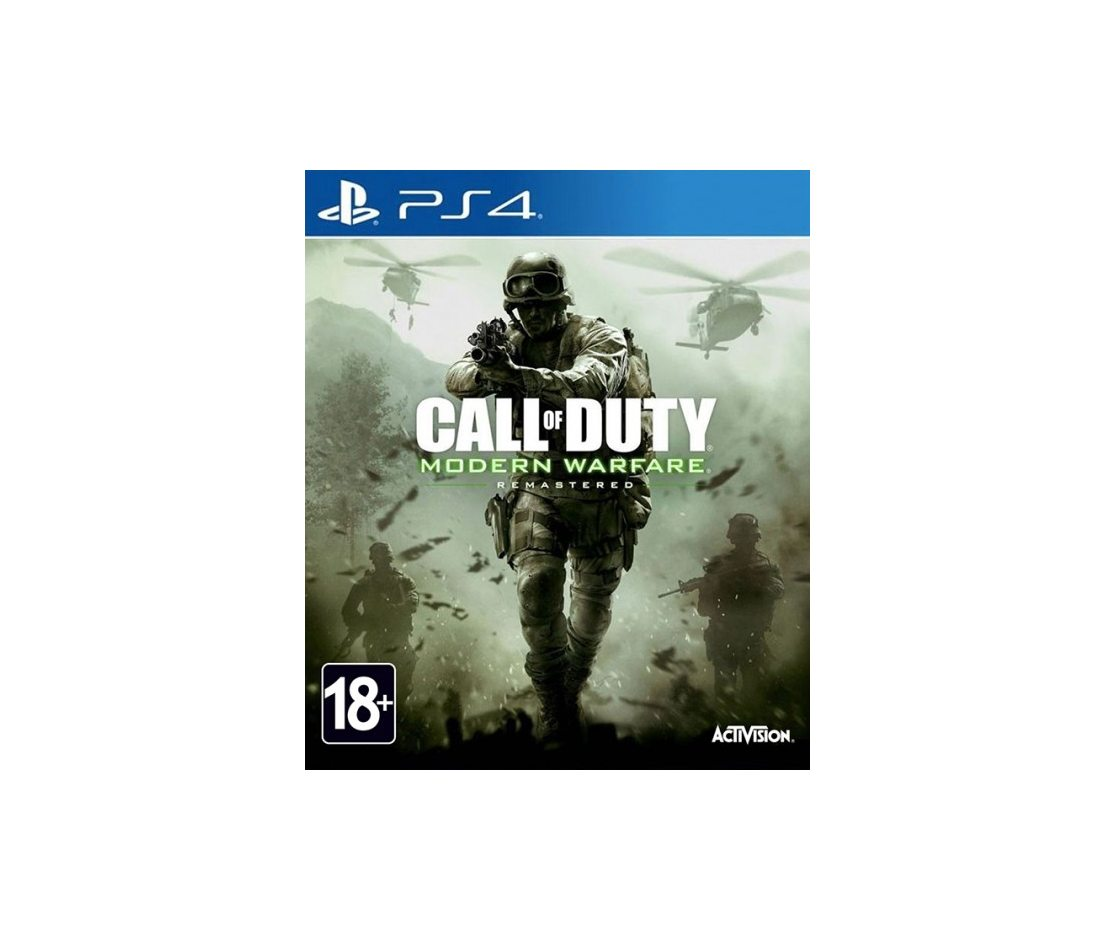 PS 4 Call of Duty: Modern Warfare Remastered PS 4