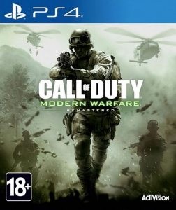 PS 4 Call of Duty: Modern Warfare Remastered