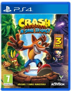 PS 4 Crash Bandicoot N'sane Trilogy