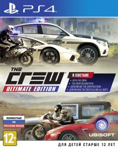 PS 4 Crew. Ultimate Edition