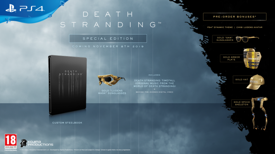 PS 4 Death Stranding Special Edition PS 4