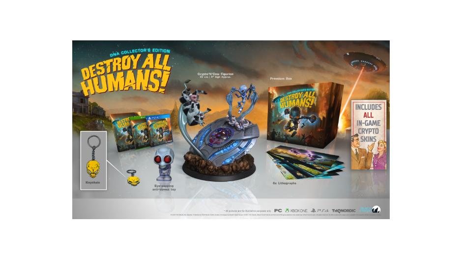 PS 4 Destroy All Humans! Коллекционное издание PS 4