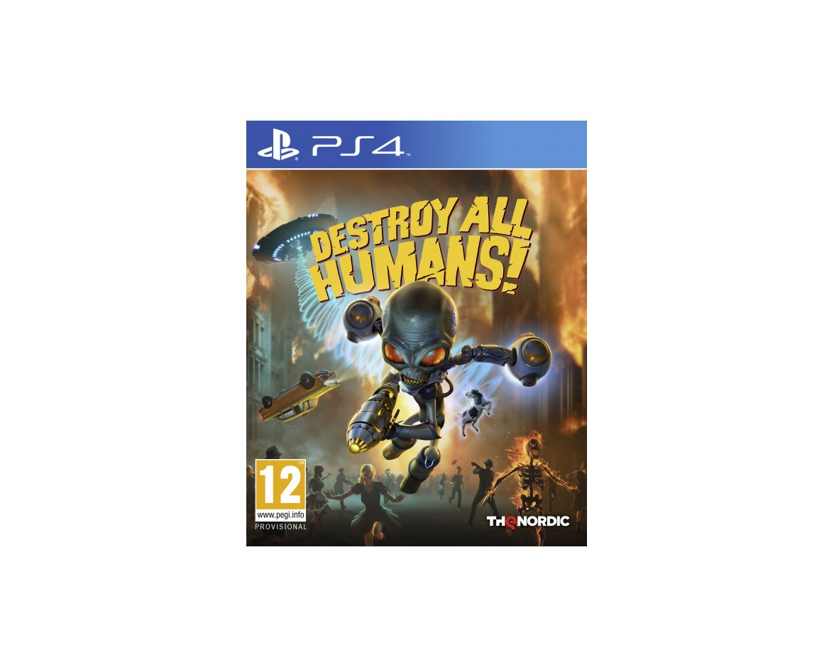 PS 4 Destroy All Humans! PS 4