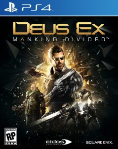 PS 4 Deus Ex: Mankind Divided