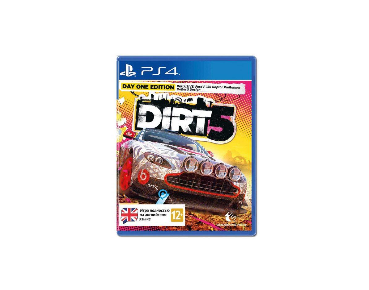 PS 4 Dirt 5. Издание первого дня PS 4