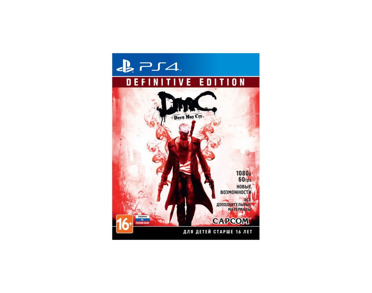 PS 4 DmC Devil May Cry: Definitive Edition PS 4