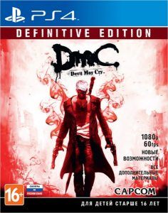 PS 4 DmC Devil May Cry: Definitive Edition