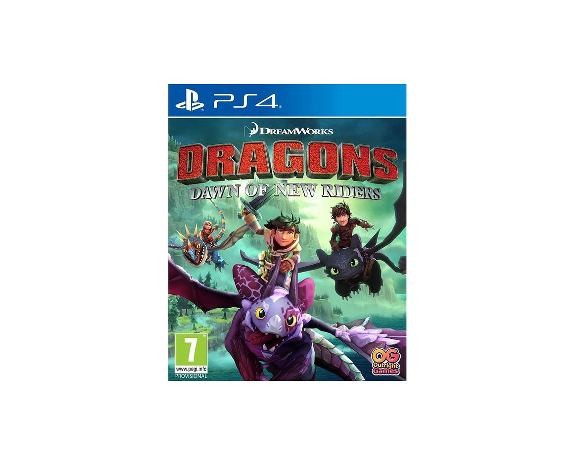 PS 4 Dragons Dawn of New Riders PS 4