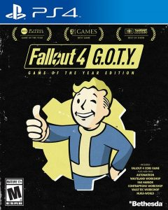 PS 4 Fallout 4. Game of the Year Edition