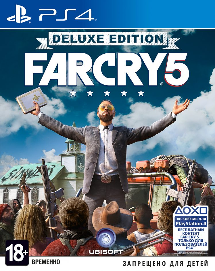 PS 4 Far Cry 5. Deluxe Edition PS 4
