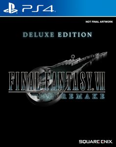 PS 4 Final Fantasy VII Remake. Deluxe Edition