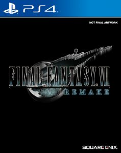 PS 4 Final Fantasy VII Remake