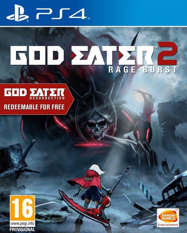 PS 4 God Eater 2: Rage Burst PS 4