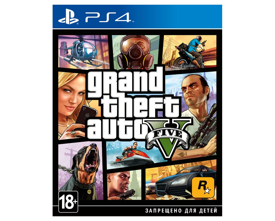 PS 4 Grand Theft Auto V PS 4