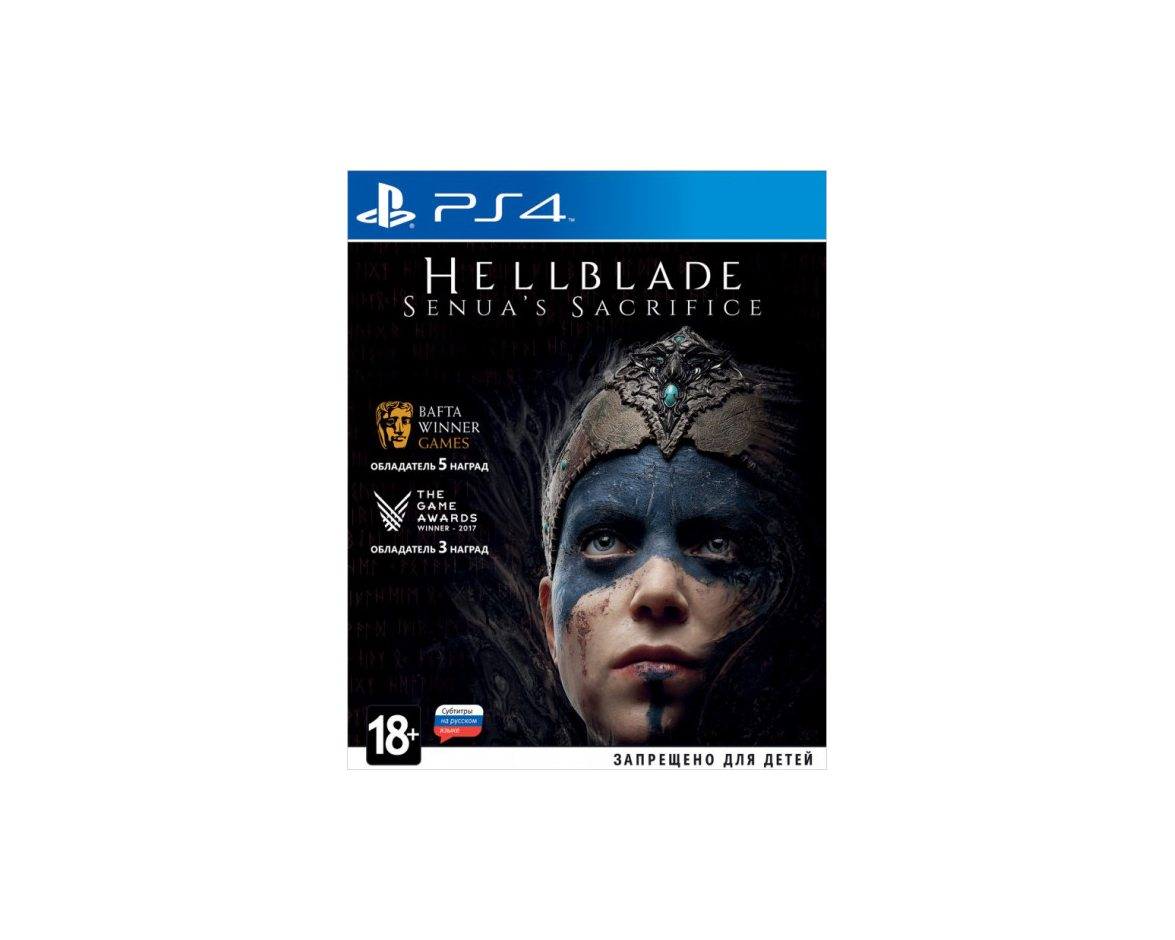PS 4 Hellblade: Senua's Sacrifice PS 4