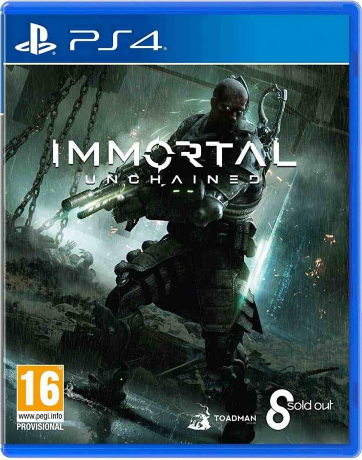 PS 4 Immortal Unchained PS 4