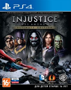 PS 4 Injustice: Gods Among Us. Ultimate Edition