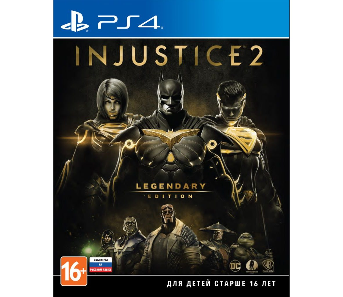 PS 4 Injustice 2. Legendary Edition PS 4