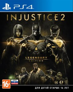 PS 4 Injustice 2. Legendary Edition