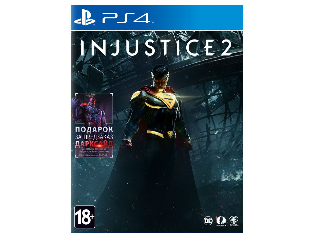 PS 4 Injustice 2 PS 4