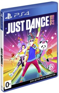 PS 4 Just Dance 2018