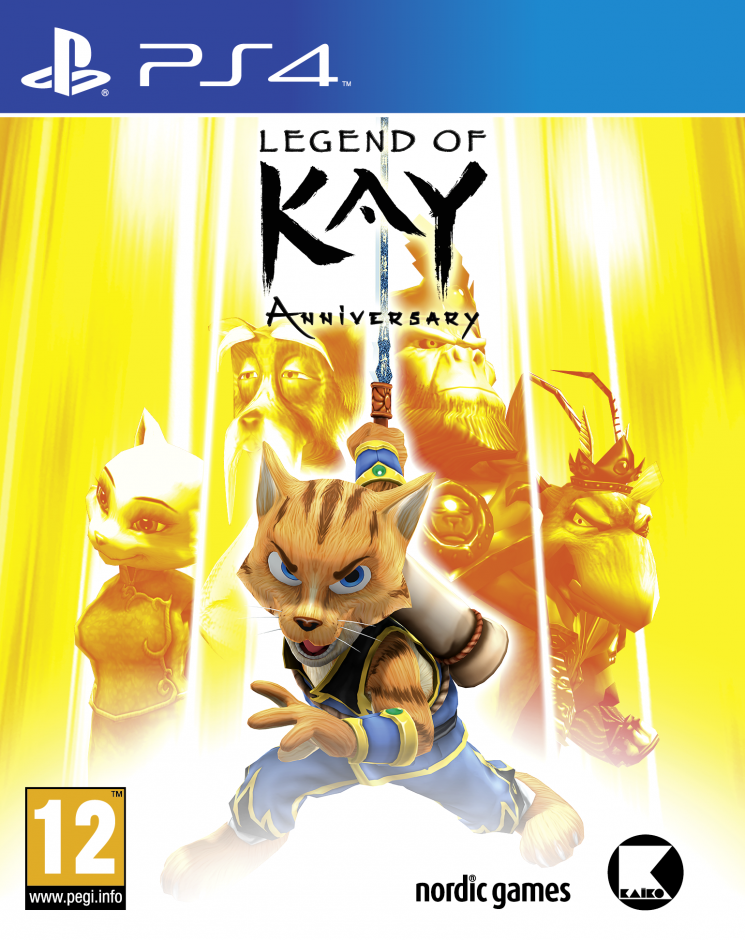 PS 4 Legend of Kay Anniversary PS 4