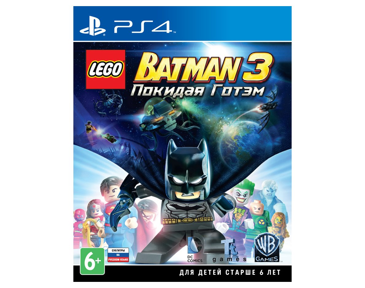 PS 4 LEGO Batman 3. Покидая Готэм PS 4