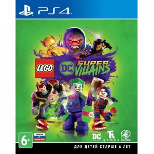PS 4 LEGO DC Super-Villains