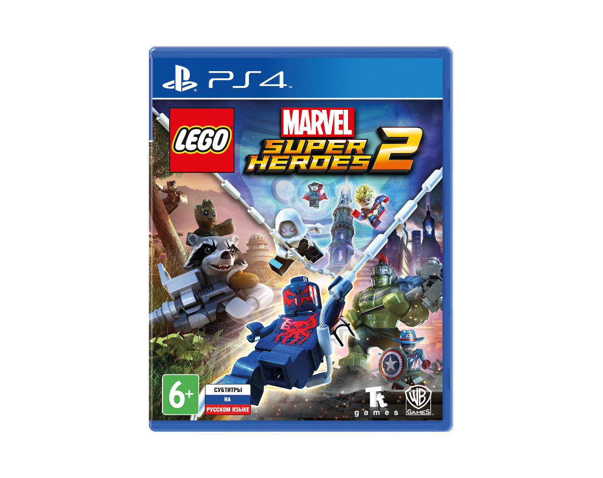 PS 4 LEGO Marvel Super Heroes 2 PS 4