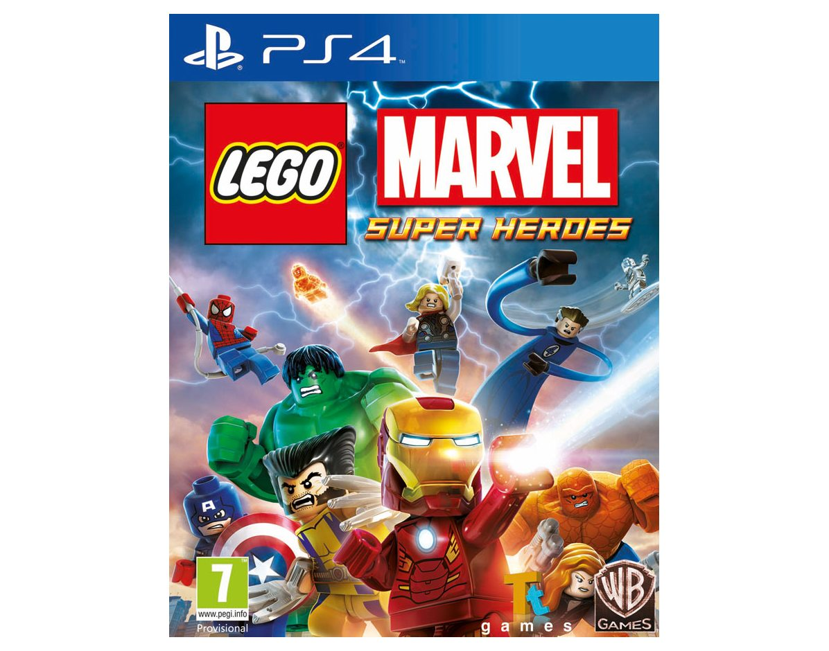 PS 4 LEGO Marvel Super Heroes PS 4