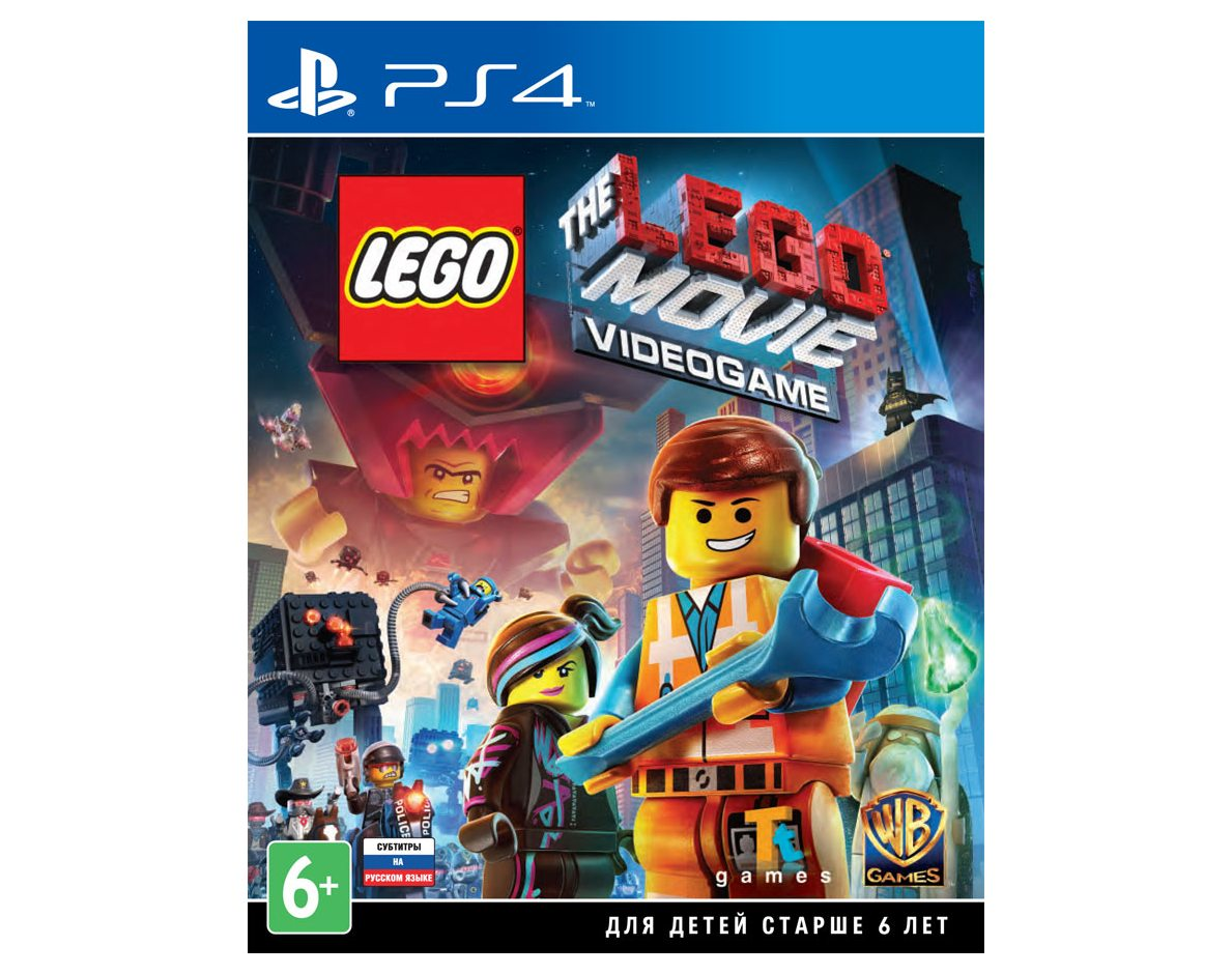 PS 4 LEGO Movie Videogame PS 4