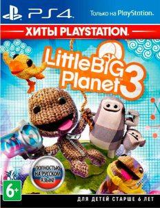 PS 4 LittleBigPlanet 3 (Хиты PlayStation)