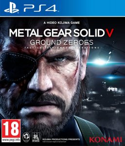 PS 4 Metal Gear Solid V: Ground Zeroes