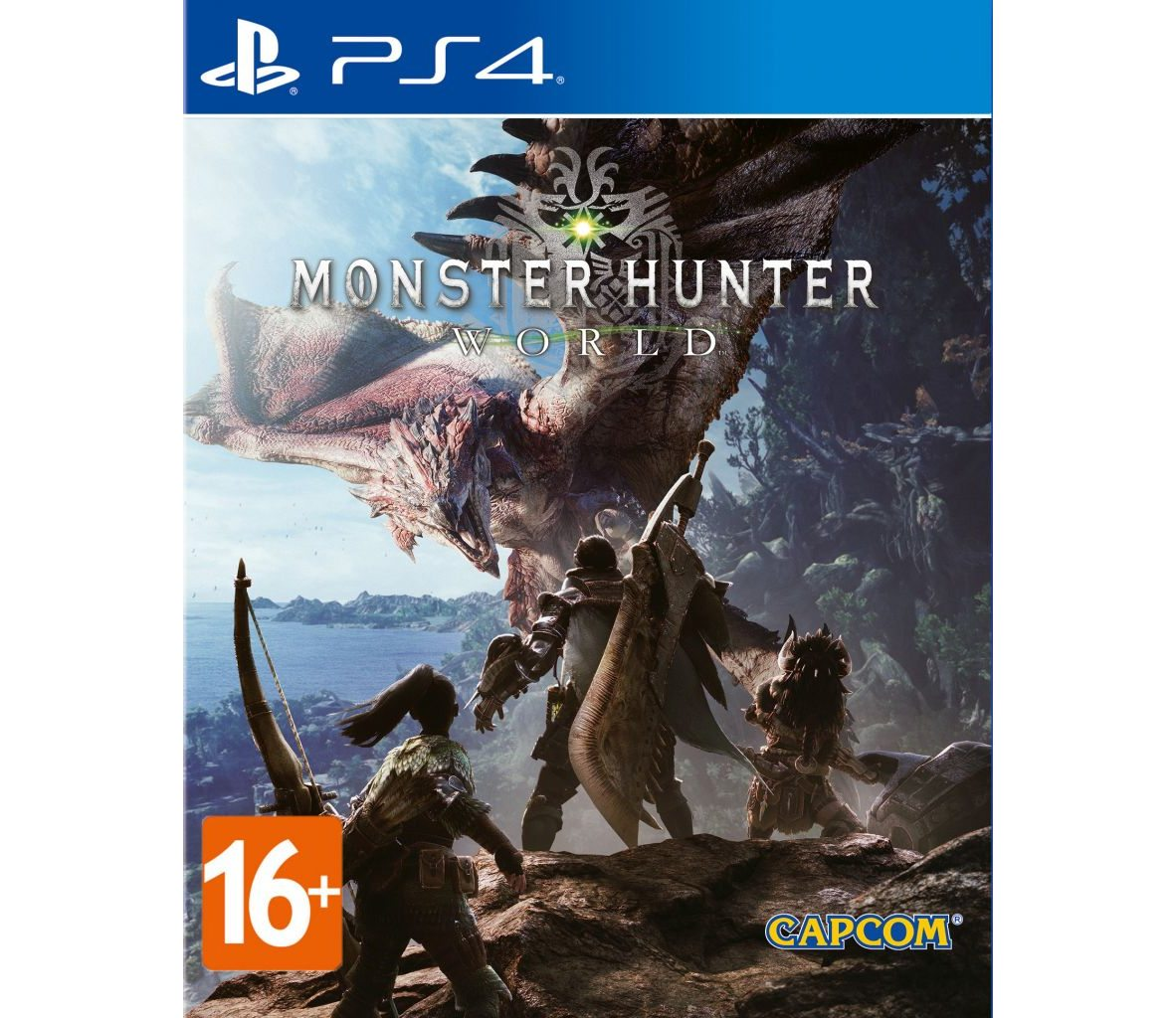 PS 4 Monster Hunter: World PS 4