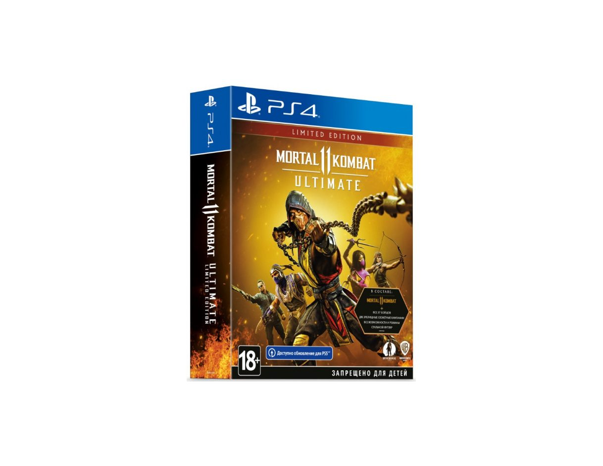 PS 4 Mortal Kombat 11 Ultimate. Limited Edition PS 4