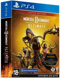 PS 4 Mortal Kombat 11 Ultimate. Limited Edition
