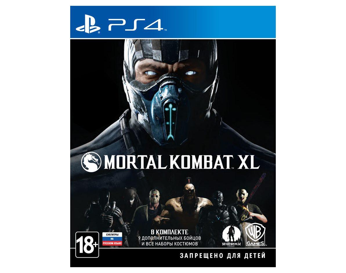 PS 4 Mortal Kombat XL PS 4