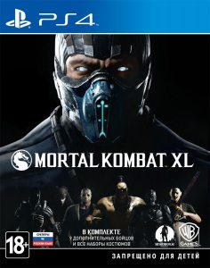 PS 4 Mortal Kombat XL