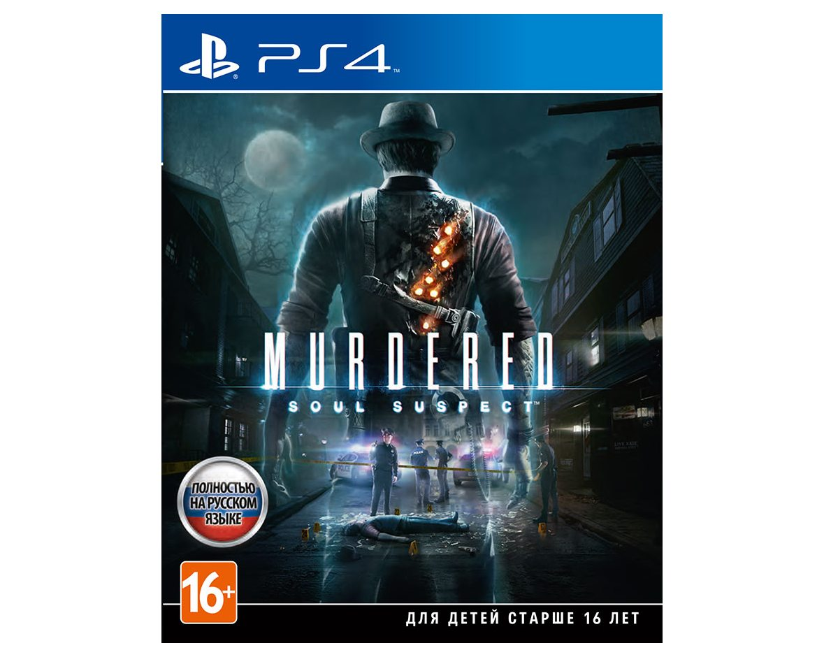 PS 4 Murdered: Soul Suspect PS 4