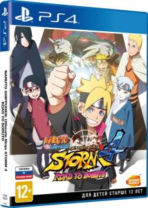 PS 4 Naruto Shippuden Ultimate Ninja Storm 4: Road to Boruto