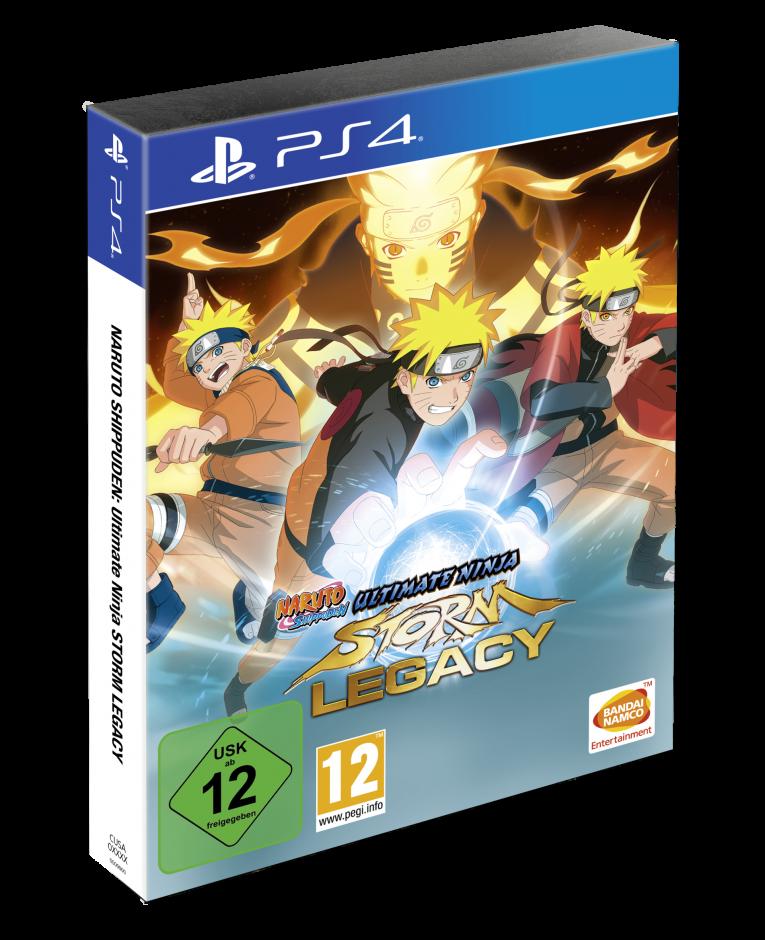 PS 4 Naruto Shippuden Ultimate Ninja Storm Legacy PS 4