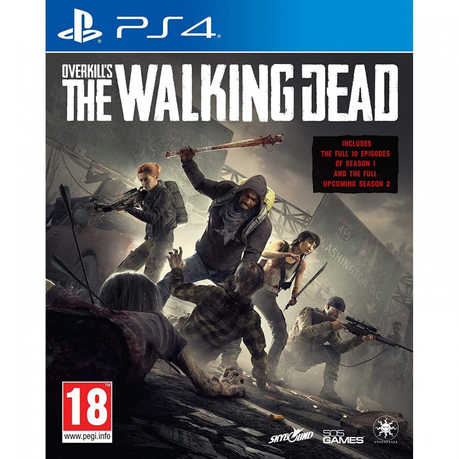 PS 4 OVERKILL's the Walking Dead PS 4
