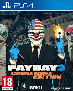 PS 4 Payday 2 Crimewave Edition