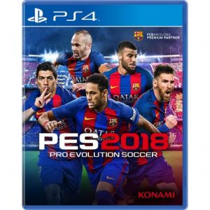 PS 4 Pro Evolution Soccer 2018