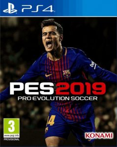 PS 4 Pro Evolution Soccer 2019